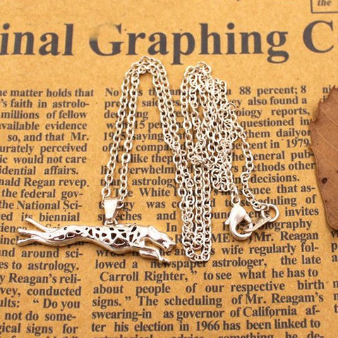 Greyhound Full Set in Silver Tone (5 necklaces)
