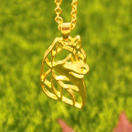 Siberian Husky Necklace Two