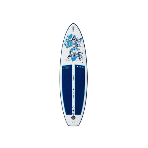 AUBURN RENTAL: Inflatable Tahoe SUP Grom Kids + Bag/Pump + Paddle + Leash/PFD Rental 4theoutdoors America US USA SUP outdoors