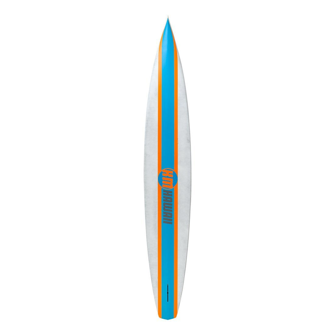 "KM Hawaii CompressorHP - Blue-Orange - 12'6"" x 24"" Carbon Fiber Performance Standup Paddle Board Paddle Boards 4theoutdoors America US USA SUP outdoors"