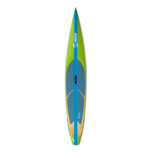 "KM Hawaii Compressor Tour - Green - 14'0"" x 27.5"" Touring Standup Paddle Board Paddle Boards 4theoutdoors America US USA SUP outdoors"