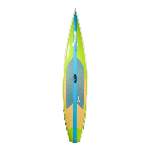 "KM Hawaii Compressor Tour - Green-Blue - 12'6"" x 28"" Performance Standup Paddle Board Paddle Boards 4theoutdoors America US USA SUP outdoors"