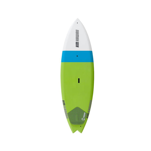 "KM Hawaii X Board - Green-Blue - 6'8"" x 24"" Paddle Boards 4theoutdoors America US USA SUP outdoors"
