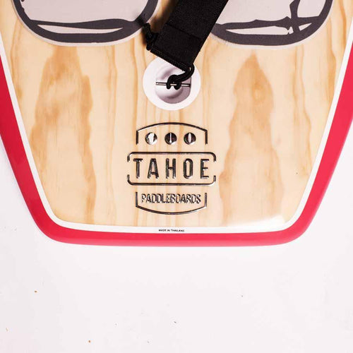 Tahoe SUP Logo Decal - 3D Chrome SUP Parts 4theoutdoors America US USA SUP outdoors