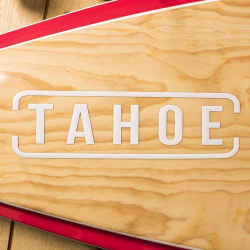 Tahoe SUP Text Decal - 3D White SUP Parts 4theoutdoors America US USA SUP outdoors