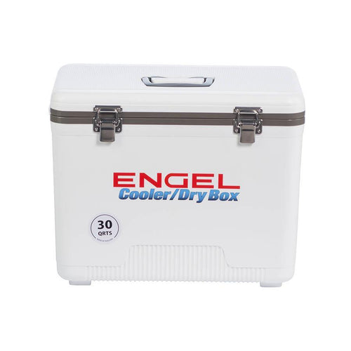 Engel UC30 Drybox Adventure Cooler - White Coolers 4theoutdoors America US USA SUP outdoors