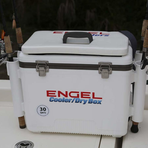 Engel RH-T - Fishing Rod Holder Cooler Attachment Mounts 4theoutdoors America US USA SUP outdoors