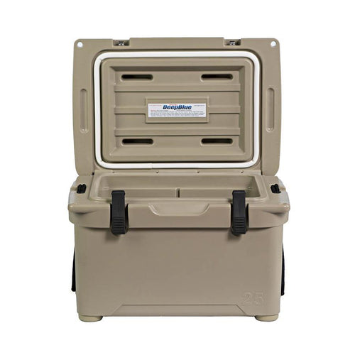 Engel ENG25 Roto-molded Cooler - Tan Coolers 4theoutdoors America US USA SUP outdoors
