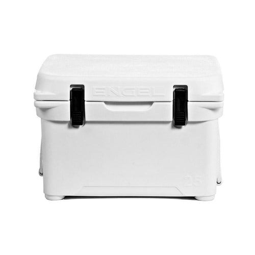 Engel ENG25 Roto-molded Cooler - White SUP Accessories Coolers 4theoutdoors America US USA SUP outdoors