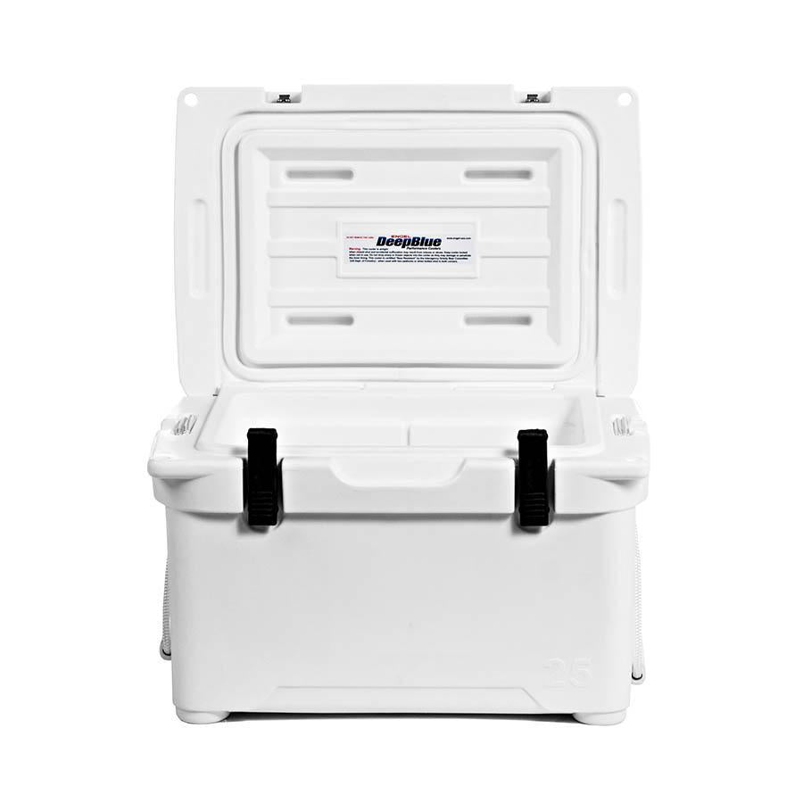 Engel ENG25 Roto-molded Cooler - White Coolers 4theoutdoors America US USA SUP outdoors
