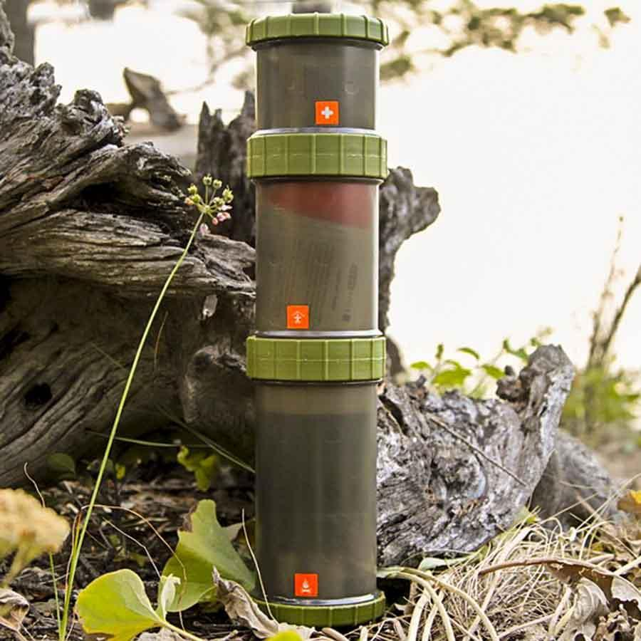 GearPods Wilderness | First-Aid/Stove/Survival Gear Pods 4theoutdoors America US USA SUP outdoors