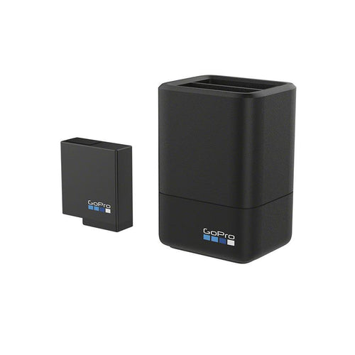 GoPro Dual Battery Charger + Battery (for HERO5) Accessories - Solar 4theoutdoors America US USA SUP outdoors