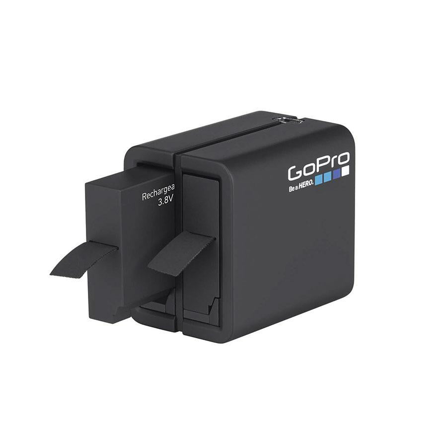 GoPro Dual Battery Charger + Battery (for HERO4) Accessories - Solar 4theoutdoors America US USA SUP outdoors