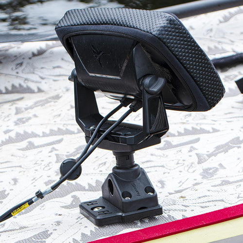 Scotty Swivel  Fishfinder Mount (No. 269) with Fish Stalker Adapter Plate Mounts 4theoutdoors America US USA SUP outdoors