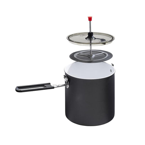 MSR Trail Lite Duo Coffee Press and Cook Pot Cook Sets 4theoutdoors America US USA SUP outdoors