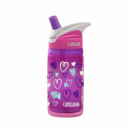CamelBak Eddy Kids Insulated Drink Bottle - Pinkhearts Hydration 4theoutdoors America US USA SUP outdoors