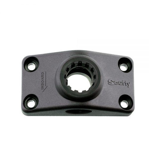 Scotty Side/Deck Mounting Bracket (No. 241) Mounts 4theoutdoors America US USA SUP outdoors