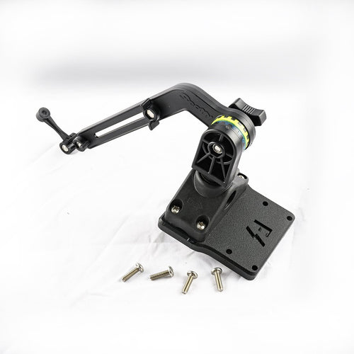 Scotty Kayak / SUP Transducer Mounting Arm (No. 140) with Fish Stalker Adapter Plate Mounts 4theoutdoors America US USA SUP outdoors