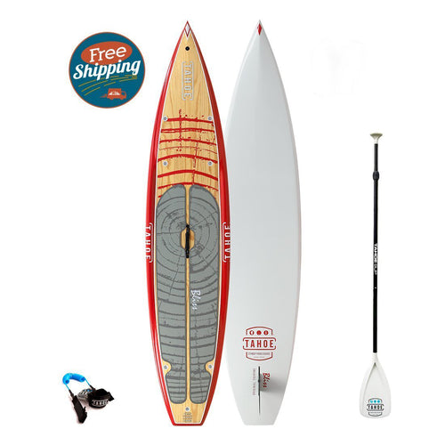 Tahoe SUP Bliss™ Touring Standup Paddle Board Package Paddle Boards 4theoutdoors America US USA SUP outdoors
