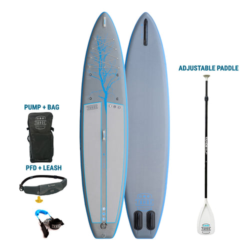 TRUCKEE/AUBURN RENTAL: Premium Inflatable Tahoe SUP Alpine Ex  Paddle Board + Pump/Bag + Paddle + Leash/PFD Rental 4theoutdoors America US USA SUP outdoors