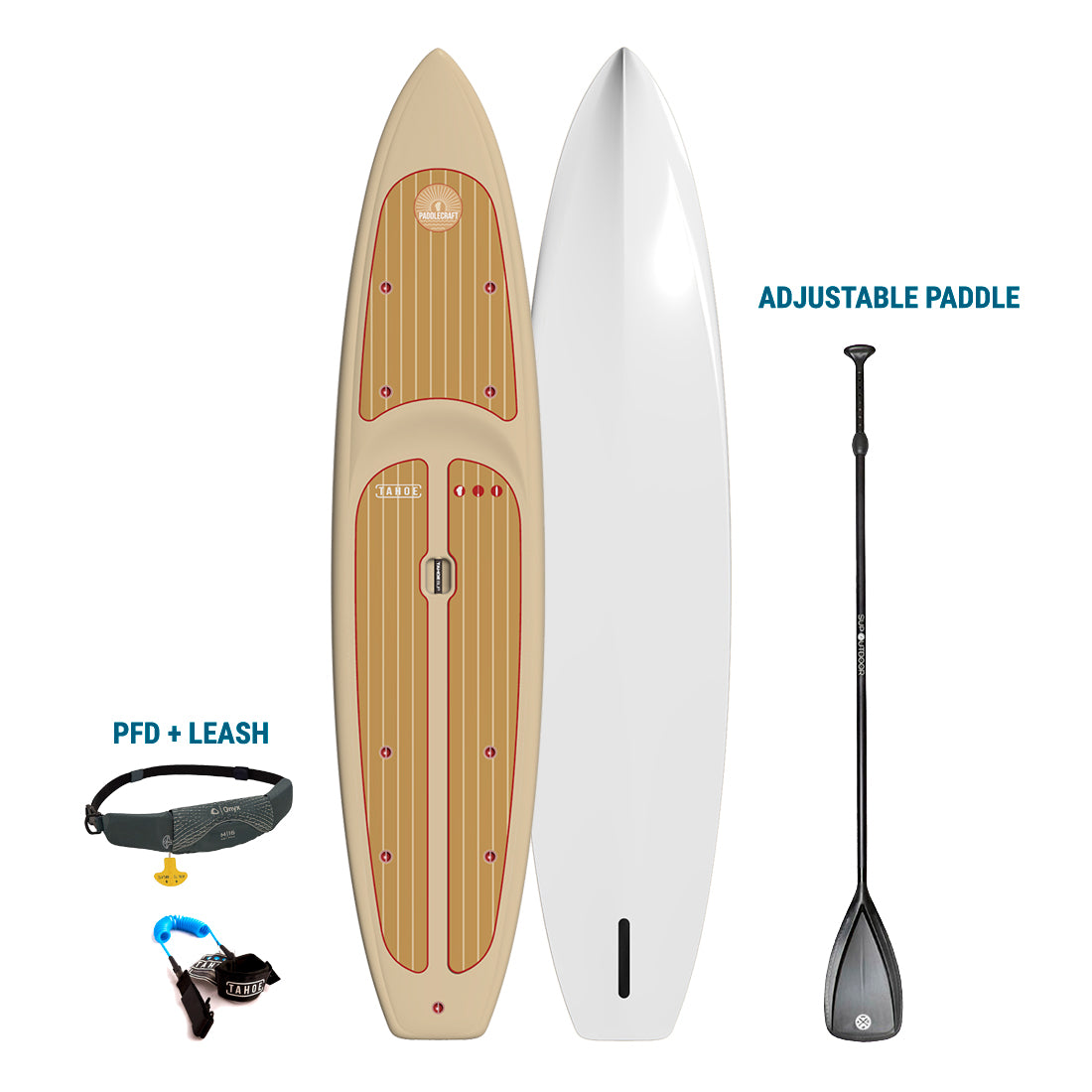 TRUCKEE/AUBURN RENTAL - Tahoe SUP Paddlecraft + Paddle + Leash + PFD Rental 4theoutdoors America US USA SUP outdoors