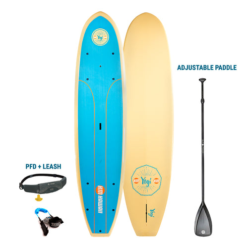 AUBURN RENTAL: KM Hawaii Aloha Yogi + Paddle + Leash/PFD - Premium  Paddleboard Rental 4theoutdoors America US USA SUP outdoors