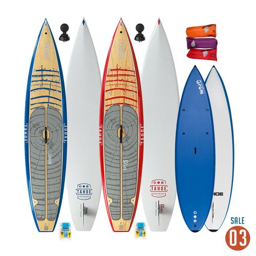 03 Sale - Tahoe SUP Family Package Paddle Boards 4theoutdoors America US USA SUP outdoors