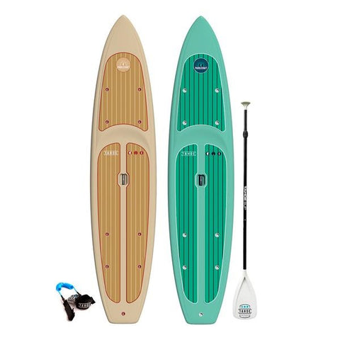 Tahoe SUP Three Piece Premium Standup Paddle Board Paddle