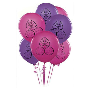 Dick Pink and Purple Balloons
