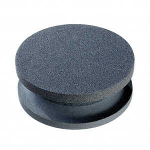 "4"" Round X 1-1/2""Thick        Silicon Carbide Combo Stone"