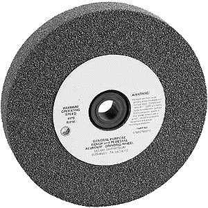 6x1 36grit AL/OX BENCH WHEEL