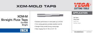 1/2-13 XCM MOLD TAP