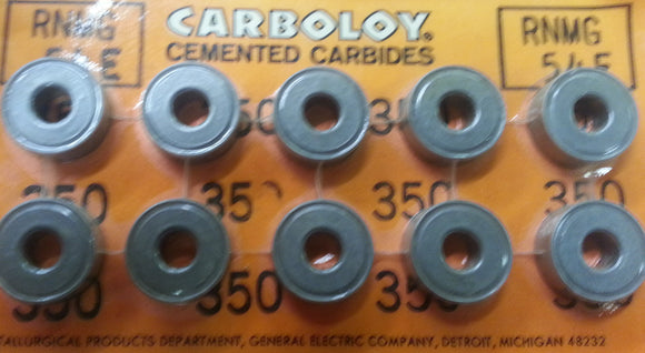 RNMG 54 350 Carboloy 10/box, 10 Box Qty
