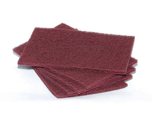 "CASE HAND PADS Maroon 6""x9""   General Purpose/60case"