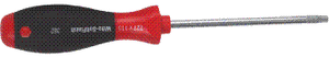 T-7 TORX SCREWDRIVER HANDLE   *SOFT FINISH*