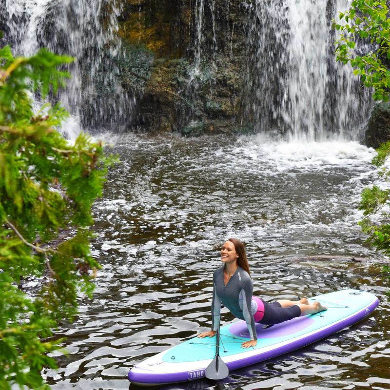 SUP Yoga Offers a Deep Connection to the Outdoors with Courtney Bruce