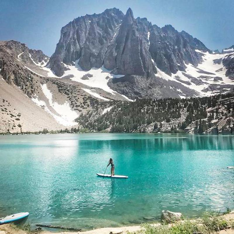 Eastern Sierra Nevada Adventure With Inflatable Standup Paddle Boards