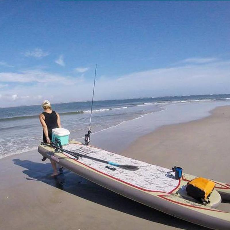 Fishing and Standup Paddle Boarding at the Southern Cape - Jersey Shore