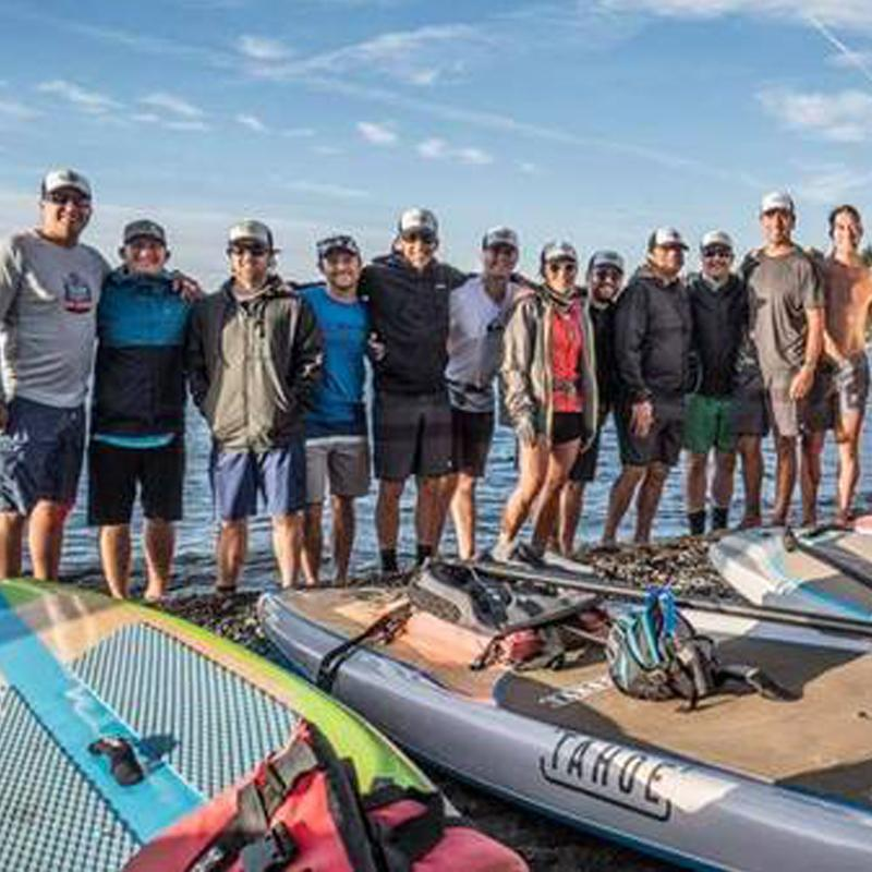 The Flatwater Challenge on Lake Tahoe Raises Over $170,000 for Families Dealing with Cancer