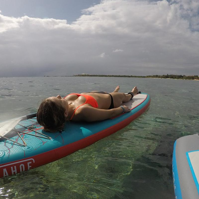 Traveling With Inflatable Paddle Boards To Explore Riviera Maya Mexico