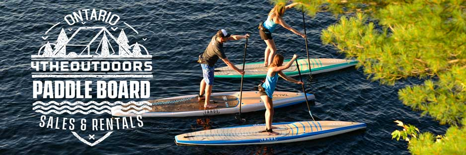 standup paddle board rental try before you buy ontario canada