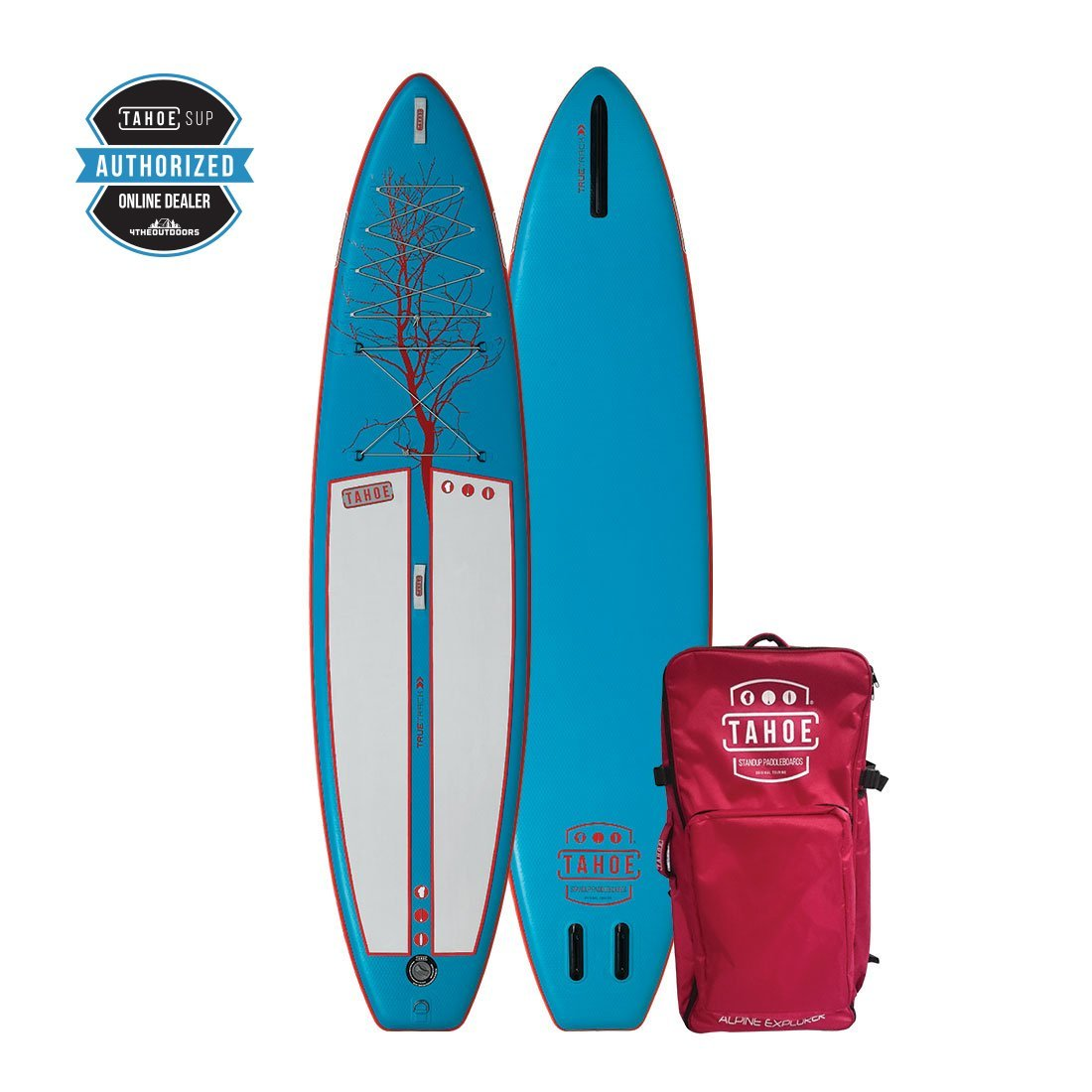 RENTAL -Tahoe inflatable  iSUP Alpine Explorer Standup Paddle Board 11' Rental 4theoutdoors Canada SUP outdoors