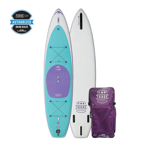 Tahoe iSUP YoFit - Inflatable Yoga Standup Paddle Board Paddle Boards 4theoutdoors Canada SUP outdoors