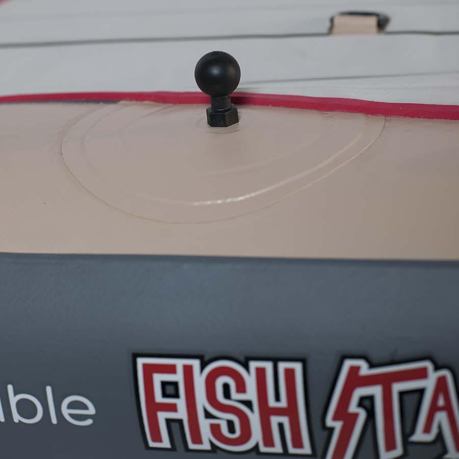"RAM 1"" Tough-Ball with M8-1.25 X 8MM Male Threaded Post Mounts 4theoutdoors Canada SUP outdoors"