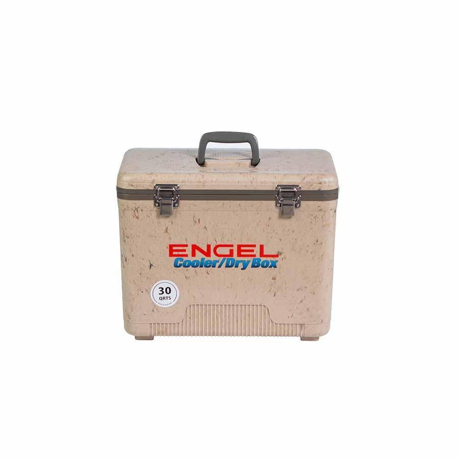 Engel UC30 Drybox Adventure Cooler - Grasslands Camo Coolers 4theoutdoors Canada SUP outdoors