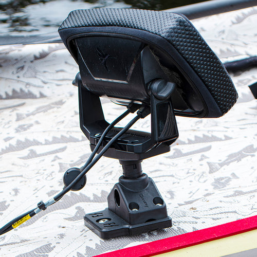 Scotty Swivel  Fishfinder Mount (No. 269) with Fish Stalker Adapter Plate Mounts 4theoutdoors Canada SUP outdoors
