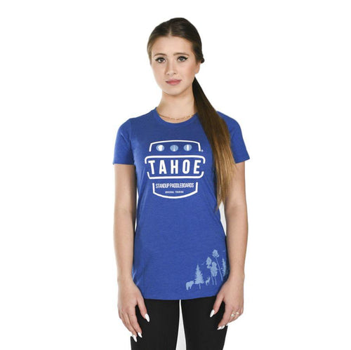 Tahoe SUP LXV Womens T-Shirt Apparel 4theoutdoors Canada SUP outdoors