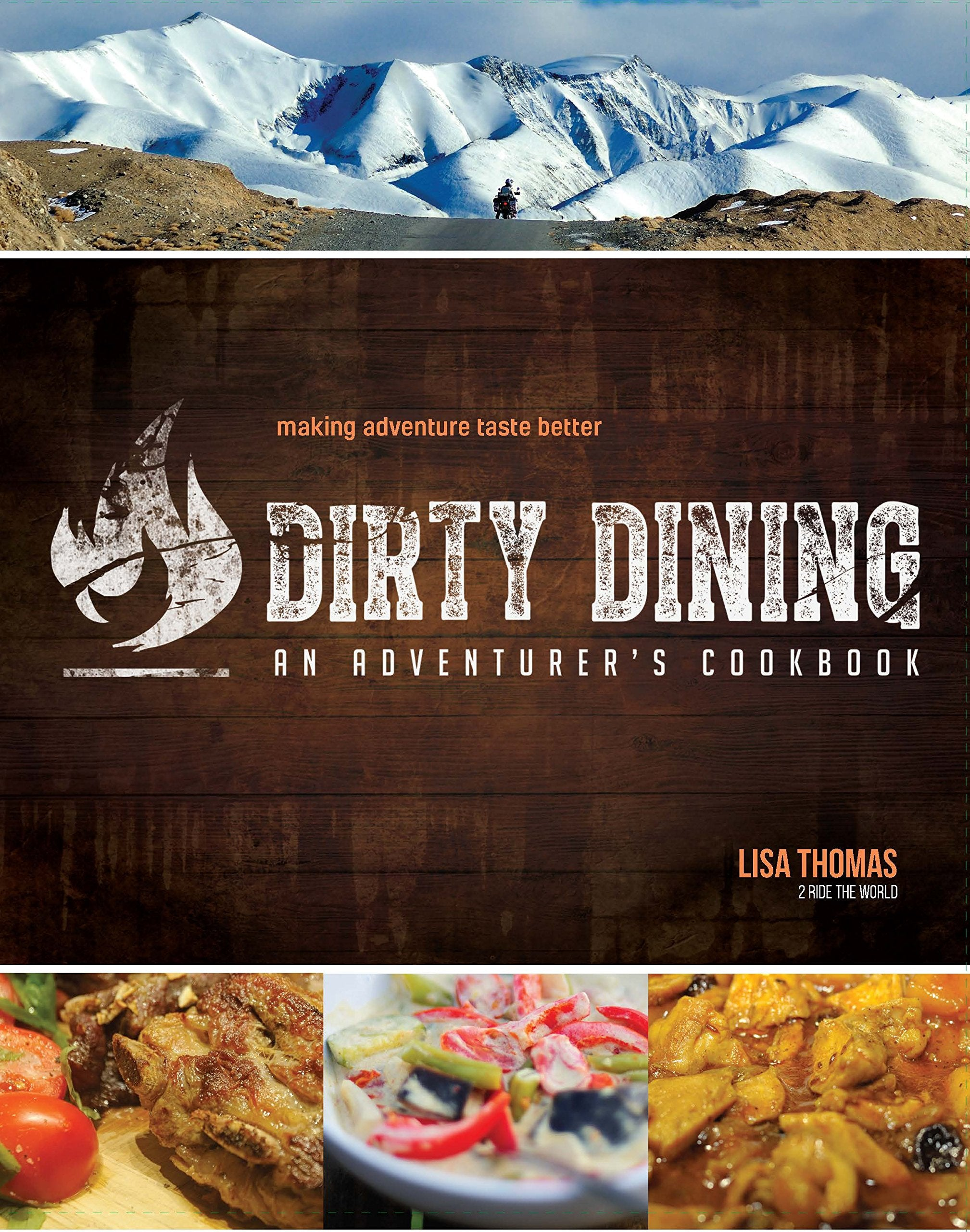 Dirty Dining an Adventurer's Cookbook Book 4theoutdoors Canada SUP outdoors