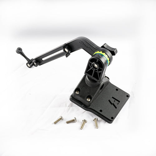 Scotty Kayak / SUP Transducer Mounting Arm (No. 140) with Fish Stalker Adapter Plate Mounts 4theoutdoors Canada SUP outdoors