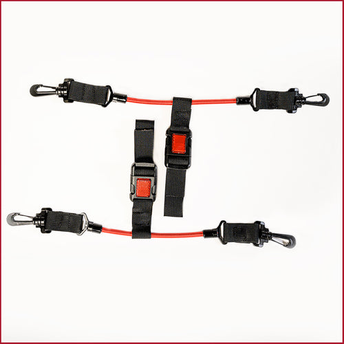 Fish Stalker Universal Hard-Box Cooler Tie Down Straps Mounts 4theoutdoors Canada SUP outdoors